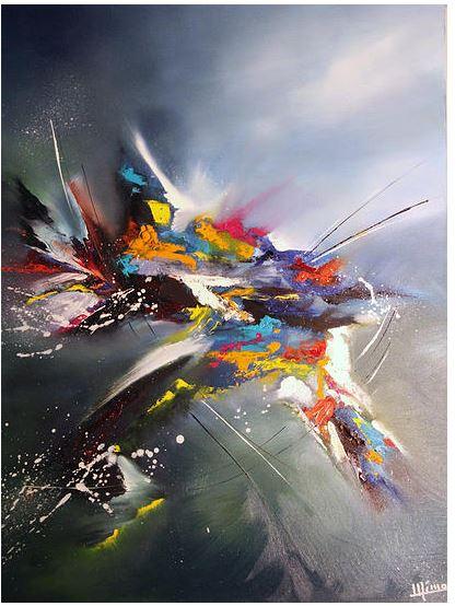 mimo-tseme artiste peintre sculpteur tableau oiseau
