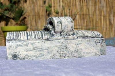 La gare. Mimo-tsémé artiste peintre sculpteur