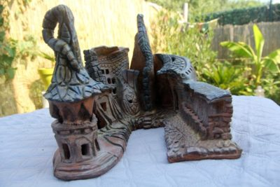 Village des elfes. MImo-Tsémé artiste peintre sculpteur