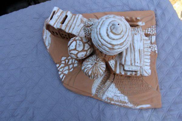 Village russe. Mimo-Tsémé artiste peintre sculpteur