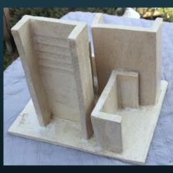 Sculpture SC110 – Les Immeubles penchés
