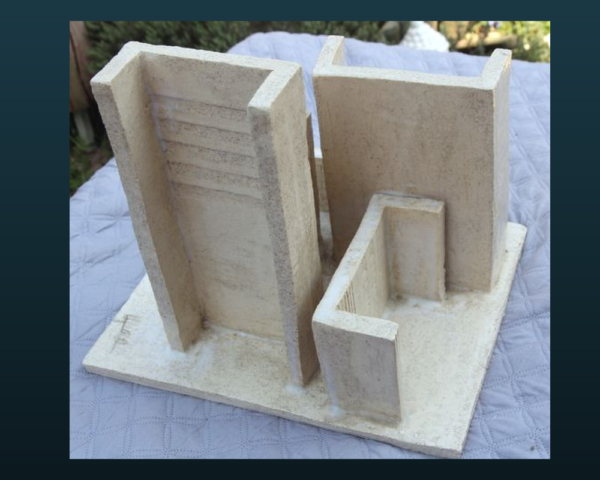 mimo-tseme sculpture immeubles