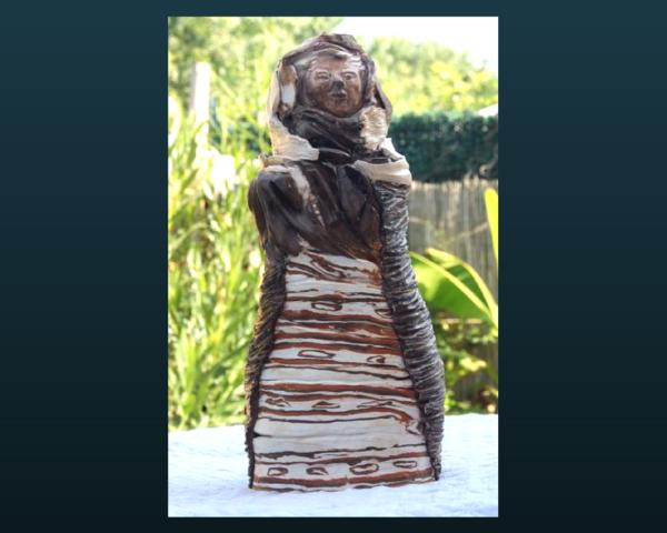 Mimo-Tseme - sculpture - matriochka