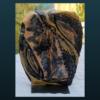 mimo-tseme sculpture plaque 3 bleu cobalt