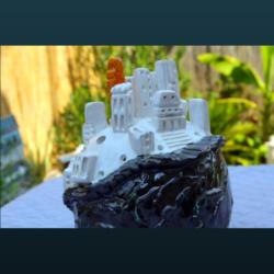 Sculpture SC106 – La petite ville ronde
