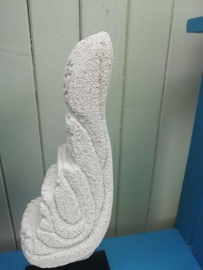 sculpture siporex l'envol mimo-tsémé