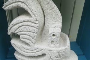 Mimo-tseme sculpture siporex
